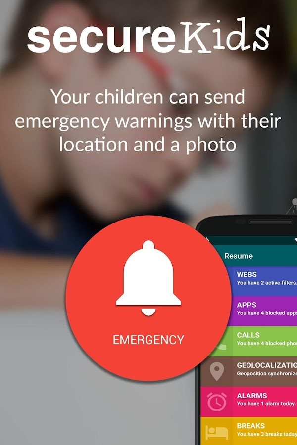 Parental Control SecureKids- screenshot
