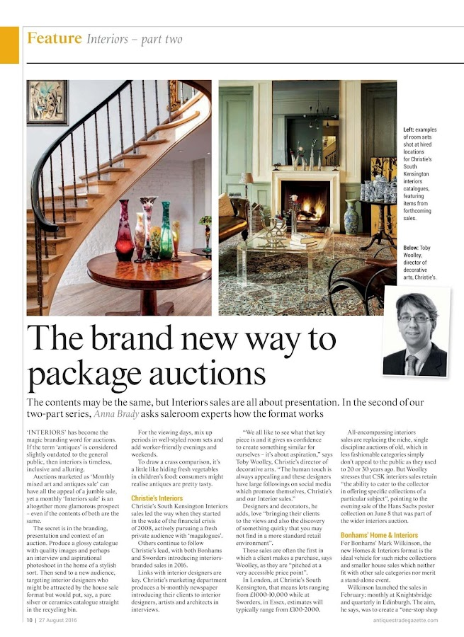 Antiques Trade Gazette- screenshot