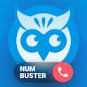 Who calls Caller name id, Safe calls SMS Blacklist icon