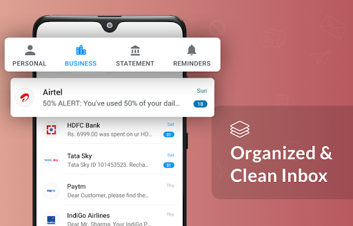 Mezo - SMS Manager, Reminder, Statement, Backup screenshots 2