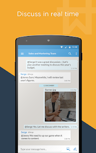 Workhive : Team chat app- screenshot thumbnail