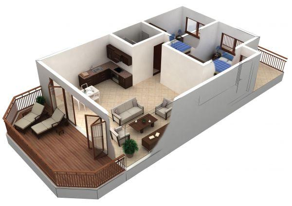 Model home 3d android apps on google play for Model house design with floor plan