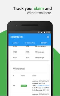 Dogefaucet: Free Dogecoin - náhled
