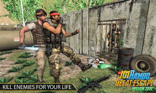IGI Rambo Jungle Prison Escape 2019 Apk 1