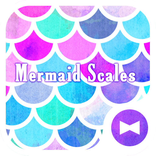 Cute Wallpaper Mermaid Scales Theme Icon
