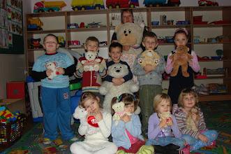 Photo: Dzień Pluszowego Misia w Oddziale Przedszkolnym