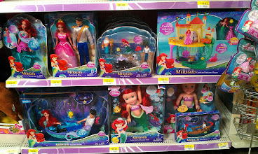 Photo: Picking out a Disney Princess The Little Mermaid toy is so hard! There are so many choices, and my girl would love them all!