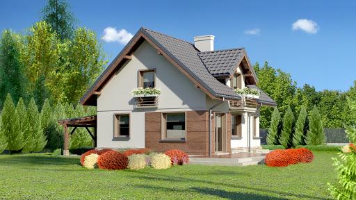 projekt Dom przy Cyprysowej 34