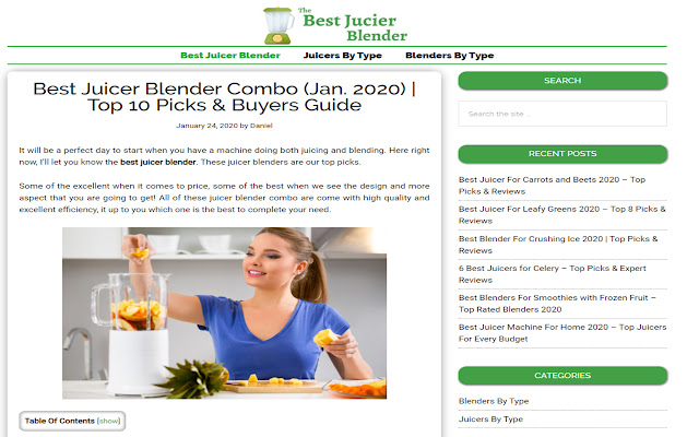 Best Juicer Blender