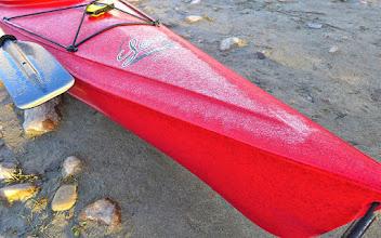 Photo: Frost on my kayak