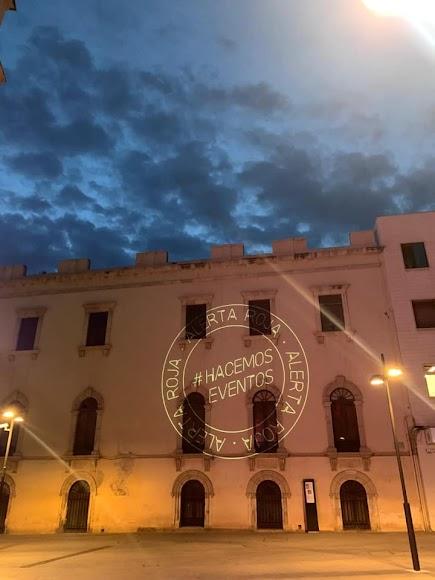 Alerta Roja en los monumentos más destacados de la ciudad. 17-9-20