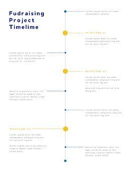 Fundraising Timeline - Vertical Timeline item
