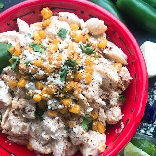 Mexican Street Corn Pasta Salad.