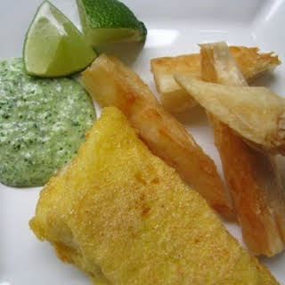 Fried Fish and Yucca.