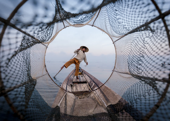 The fisherman  di Marco Tagliarino
