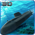 Russian Submarine Navy War 3D icon