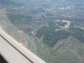 Photo: the majestic river Aare http://www.swiss-flight.net