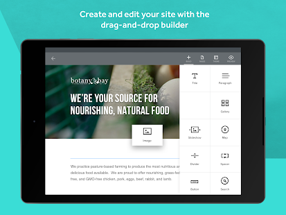 Weebly - Create a Free Website- screenshot thumbnail