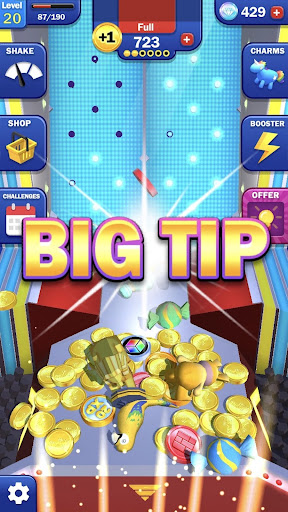 Tipping Point Blast! - Free Coin Pusher apkpoly screenshots 2