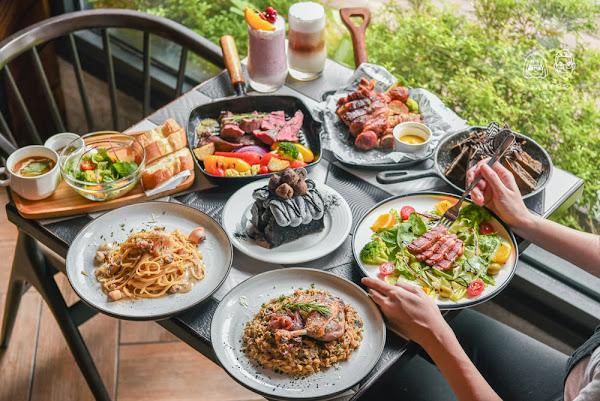 RÊVE Café 黑浮咖啡公益店:台中西區美食-2019新菜單!來自高雄好吃又好拍的超人氣早午餐咖啡廳!