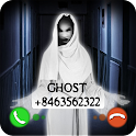 Fake Call Video Ghost Joke icon