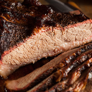 This Set-It & Forget-It Slow Cooker BBQ Brisket Comes Out Super Tender & The BBQ Sauce Is Made From Scratch!