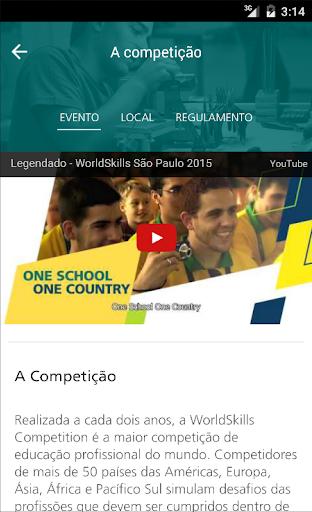 WorldSkills São Paulo 2015|玩教育App免費|玩APPs
