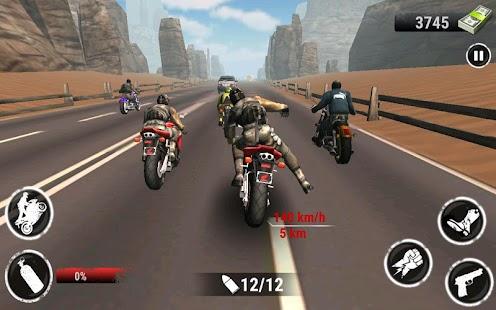 Dálnice Stunt Bike Rider - náhled