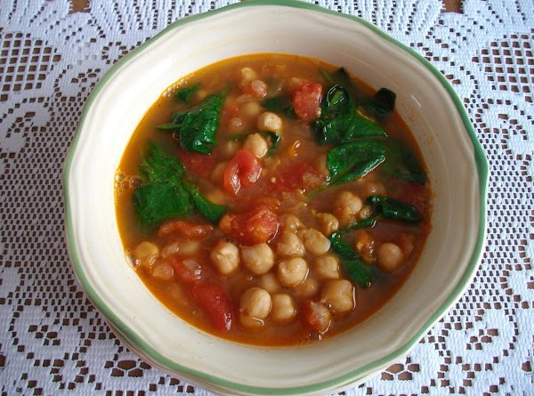 Moroccan Spiced Chickpea Soup Recipe