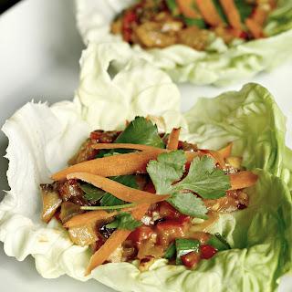 Vegetarian Lettuce Wraps