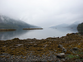 Photo: View from Nabannah Bay looking north up Grenville Channel.