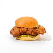 Spicy Fried Chicken Sandwich Solo