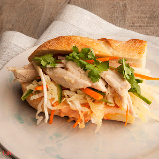 Vietnamese Chicken Sandwich.