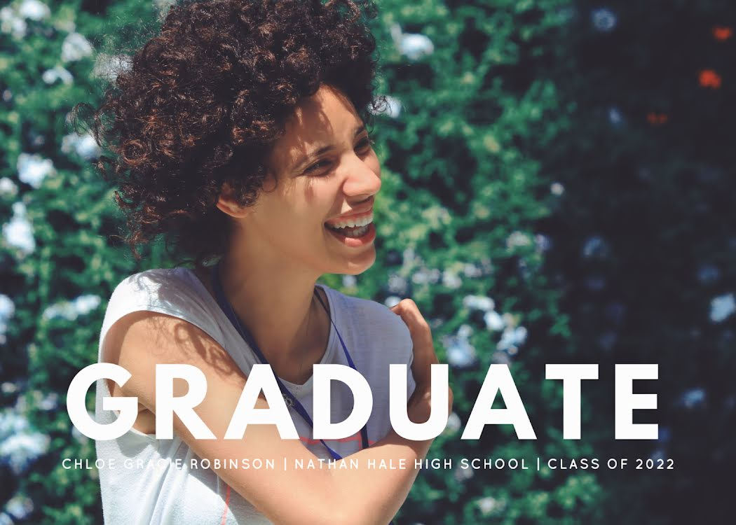 Chloe's Graduation Party - Graduation Announcement Template