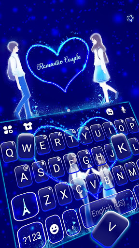 Romantic Love Keyboard Theme 1.0 screenshots 2