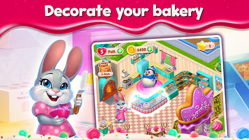 Sweet Escapes: Design a Bakery with Puzzle Games 4.7.447 updownapk 1
