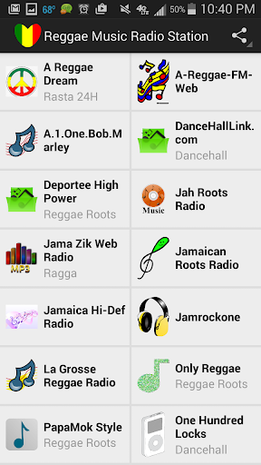 Reggae Music Radio Station