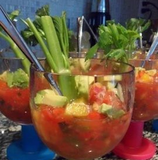 Patio Gazpacho Recipe