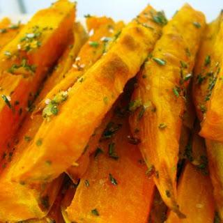 Garlic & Rosemary Sweet Potato Fries