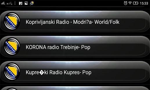 Radio FM Bosnia & Herzegovina - náhled