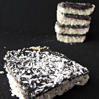 Coconut Butter Protein Bars
