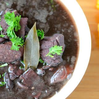 Feijoada (Brazilian Black Bean and Pork Stew).