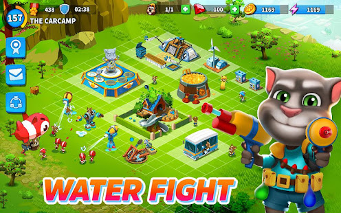 Game Talking Tom Camp APK for Windows Phone