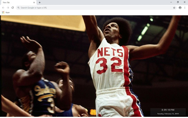 Julius Erving New Tab & Wallpapers Collection