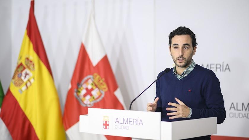 Carlos Sánchez, concejal de Promoción de la Ciudad.