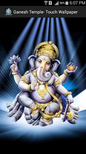 Ganesh Temple on Wallpaper