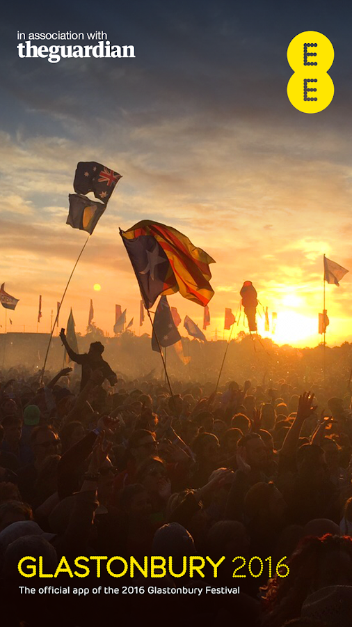 Glastonbury Festival 2016- screenshot