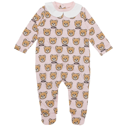 Primary image of Moschino Cotton Teddy Babysuit