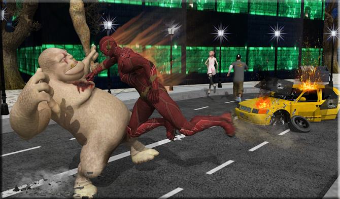 Flash Boy Hero Lightning Strike Android 11