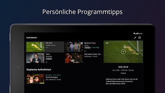 waipu.tv - Live TV-Streaming, Pay-TV & On Demand Screenshot
